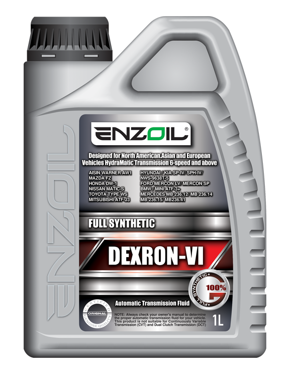 FULL SYNTHETIC AUTOMATIC TRANSMISSION FLUID DEXRON VI